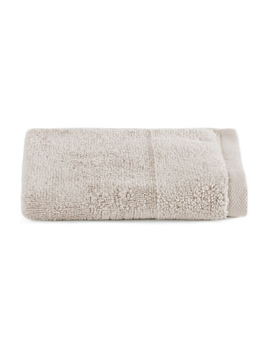 Distinctly Home Egyptian Cotton-Blend Wash Cloth-GREY-Washcloth