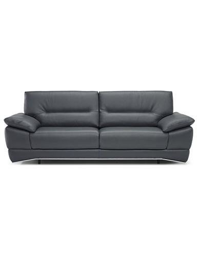 Couches & Sofas   Hudson's Bay - Lombardy Italian-tanned leather Loveseat