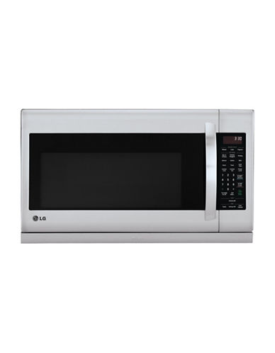 Lg Lmv2055st 2 0 Cu Ft Over The Range Microwave With Extendavent Stainless Steel