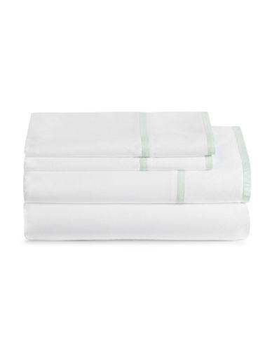 Glucksteinhome Bradley 400 Thread Count Four-Piece Sheet Set-WHITE-Queen