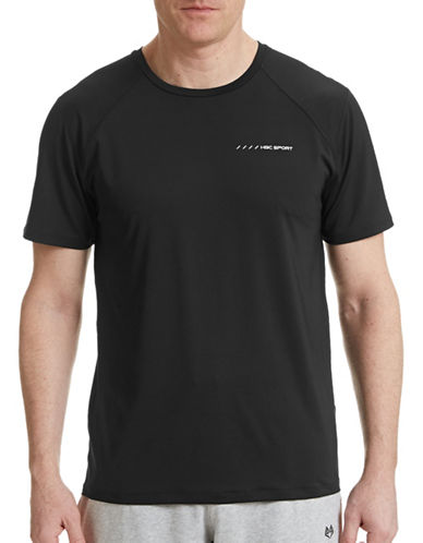 Hbc Sport Training Performance T-Shirt-BLACK-Small