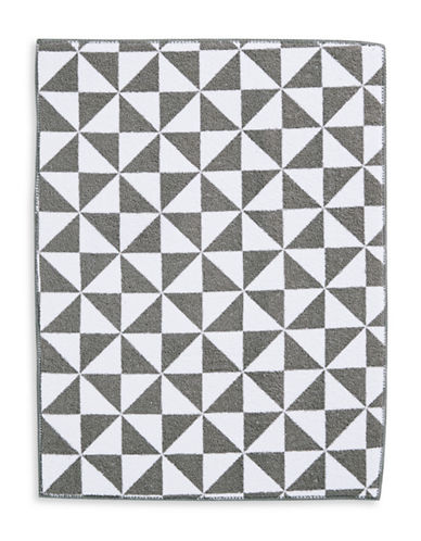 Essential Needs Print Microfibre Dish Drying Mat-GREY-One Size