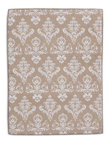 Essential Needs Print Microfibre Dish Drying Mat-TAUPE-One Size