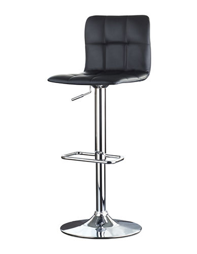 Distinctly Home Gas Lift Bar Stool-BLACK-One Size