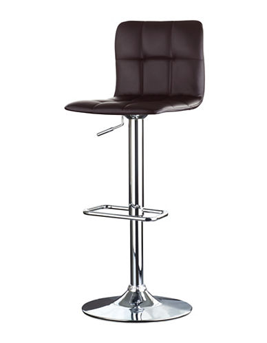 Distinctly Home Gas Lift Bar Stool-BROWN-One Size