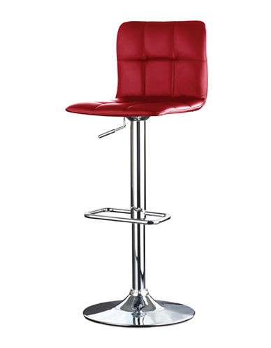 Distinctly Home Gas Lift Bar Stool-RED-One Size