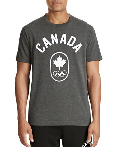 Canadian Olympic Team Collection Mens Canada T-Shirt-CHARCOAL-X-Large 87457394_CHARCOAL_X-Large