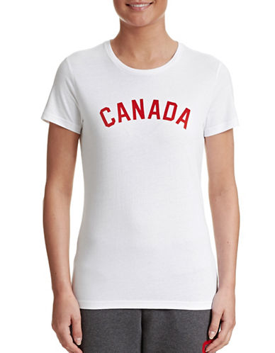 Canadian Olympic Team Collection Womens Canada Tee-WHITE-Large 87457473_WHITE_Large