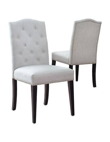 Home Studio Naples Dining Chair-LINEN-One Size