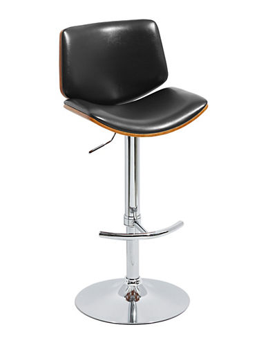 Distinctly Home Clyde Gas Lift Barstool-BLACK-One Size