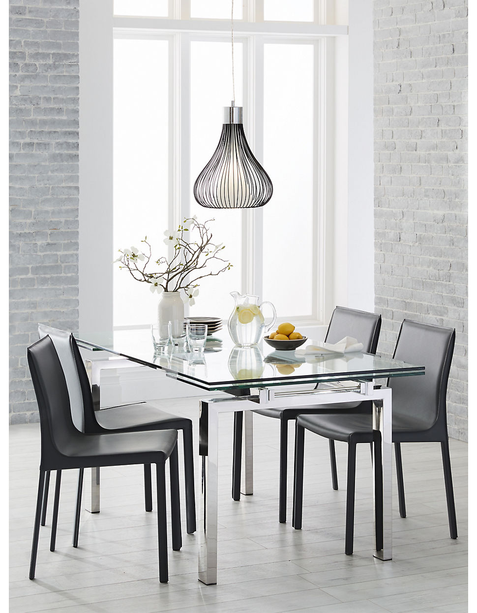 Cantro Dining Table With Extension Leaf