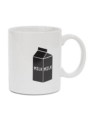 Distinctly Home Milk Carton Icon Mug-CREAM-One Size