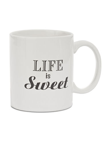 Distinctly Home Life is Sweet Icon Mug-CREAM-One Size
