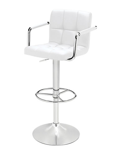Upc 400874965922 Distinctly Home Finn Armed Barstool White One