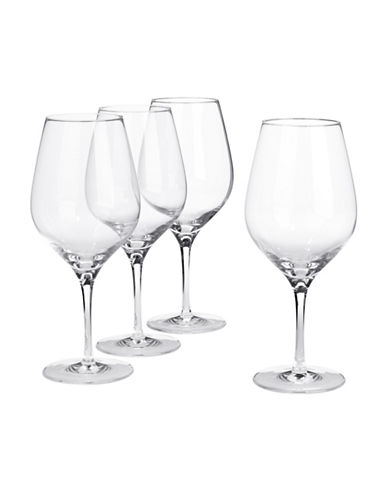 Glucksteinhome Fete Set of Four Water Goblets-CLEAR-One Size
