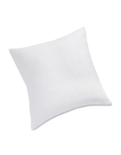 Distinctly Home Romantique Honeycomb Cushion-WHITE-18x18