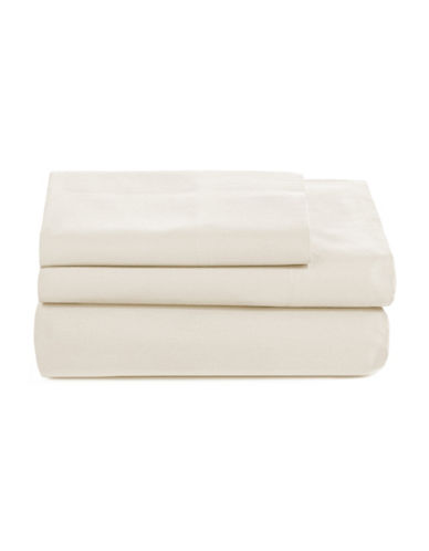 Distinctly Home Spectrum 520 Thread-Count Three-Piece Sheet Set-IVORY-Twin