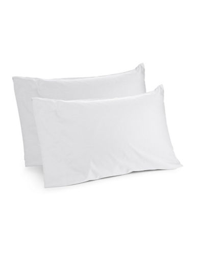 Distinctly Home Spectrum 520 Thread-Count Two-Piece Pillowcase Set-WHITE-Standard