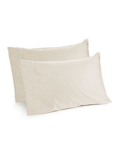 Distinctly Home Spectrum 520 Thread-Count Two-Piece Pillowcase Set-IVORY-King