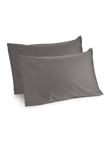 Distinctly Home Spectrum 520 Thread-Count Two-Piece Pillowcase Set-CHARCOAL-King