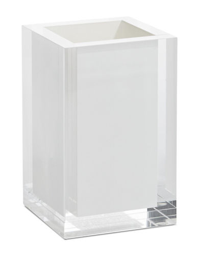 Glucksteinhome Ice Flow Lucite Tumbler-BRIGHT WHITE-One Size