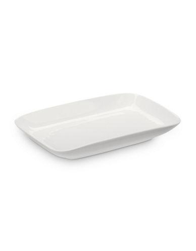 Glucksteinhome A La Carte Rectangular Platter-WHITE-One Size