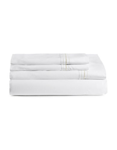 Glucksteinhome Essex Four-Piece Sheet Set-TAUPE-King