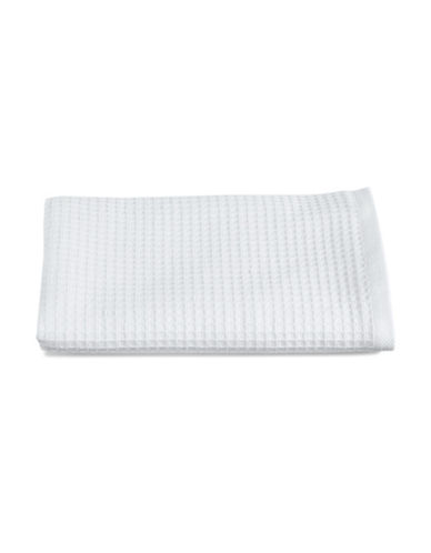 Glucksteinhome Waffle Cotton Hand Towel-WHITE-Hand Towel
