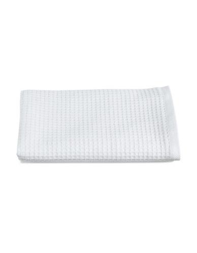 Glucksteinhome Waffle Cotton Washcloth-WHITE-Washcloth