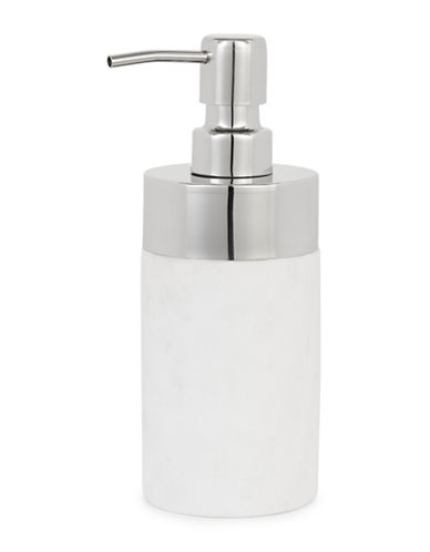 Glucksteinhome Bianco Marble Lotion Pump-WHITE-One Size