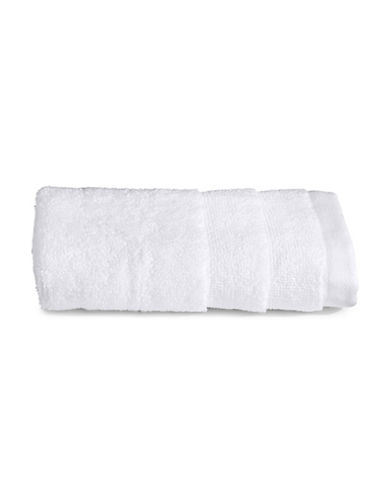 Glucksteinhome Ultimate Spa Combed Cotton Washcloth-WHITE-Washcloth