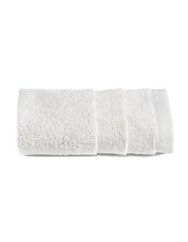 Glucksteinhome Ultimate Spa Combed Cotton Washcloth-LIGHT GREY-Washcloth
