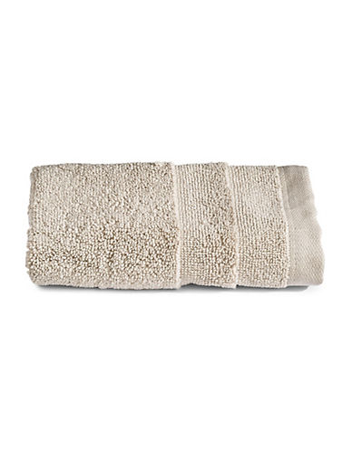 Glucksteinhome Ultimate Spa Combed Cotton Washcloth-TAUPE-Washcloth