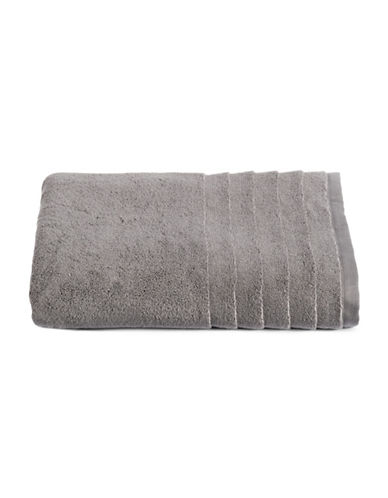 Glucksteinhome Ultimate Spa Combed Cotton Bath Towel-DARK GREY-Bath Towel
