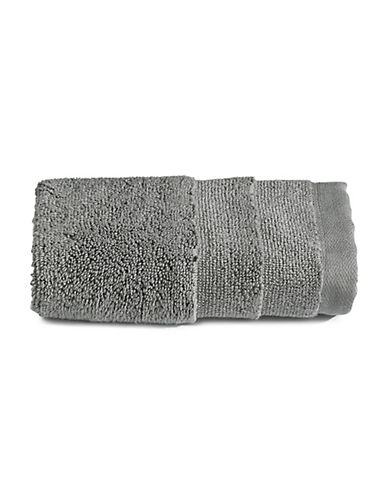 Glucksteinhome Ultimate Spa Combed Cotton Washcloth-DARK GREY-Washcloth