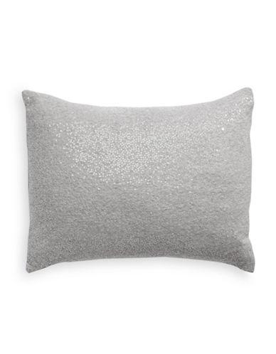 Glucksteinhome Long Sequined Throw Pillow-LIGHT GREY-One Size