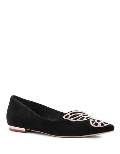 Sophia Webster Bibi Butterfly Flat-BLACK-7.5