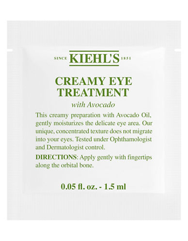 KiehlS Since 1851 Creamy Eye Treatment with Avocado Sample-NO COLOUR-One Size