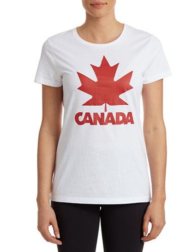 Canadian Olympic Team Collection Maple Leaf Tee-WHITE-X-Small 87806093_WHITE_X-Small