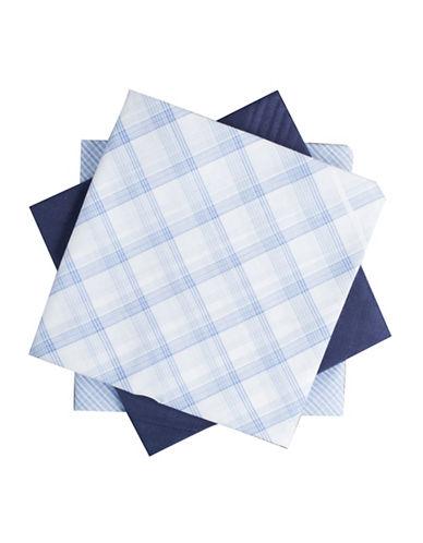 Dockers Three-Piece Hankie Boxed Set-BLUE/WHITE-One Size