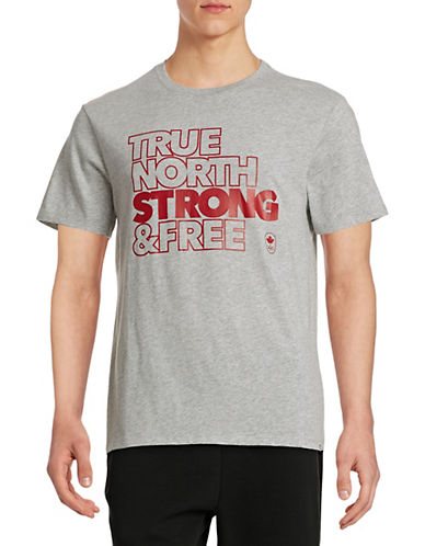 Canadian Olympic Team Collection Mens Village True North T-Shirt-GREY-Large 87825474_GREY_Large