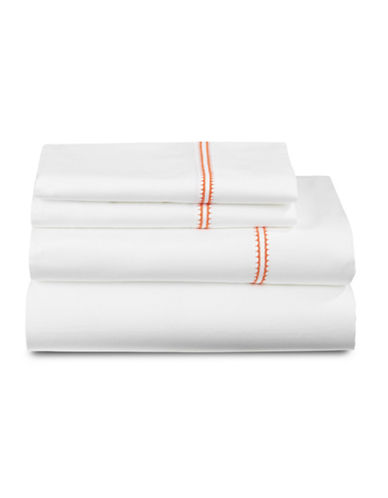 Distinctly Home Four-Piece Milo Sheet Set-ORANGE-Queen