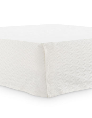Glucksteinhome Corsica Bedskirt-WHITE-King
