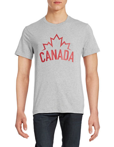 Canadian Olympic Team Collection Mens Canada Flag T-Shirt-GREY-Small 87838348_GREY_Small