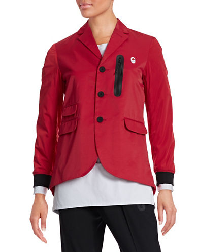 Canadian Olympic Team Collection Women's Opening Ceremony Jacket Designed by Dsqaured2-RED-X-Large 87843826_RED_X-Large