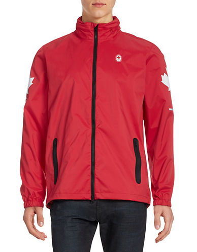 Canadian Olympic Team Collection Men's Closing Ceremony Jacket-RED-Medium 87843875_RED_Medium