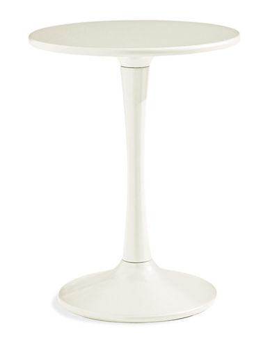 Dh Athena Pedestal Table-WHITE-One Size