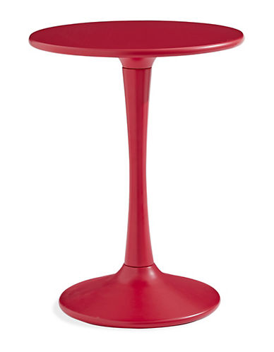 Distinctly Home Athena Pedestal Table-RED-One Size