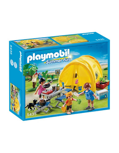 Playmobil Family Camping Trip Playset-MULTI-One Size