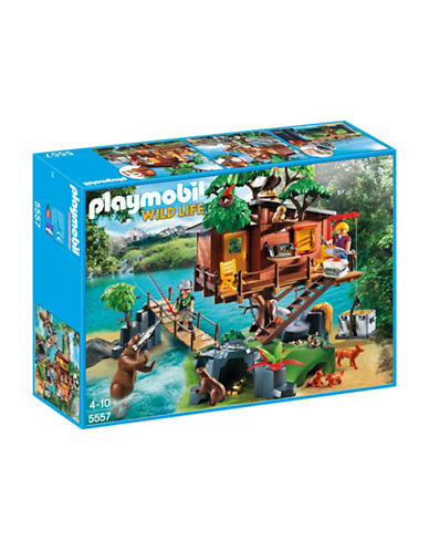 Playmobil Adventure Tree House Playset-MULTI-One Size 88671220_MULTI_One Size